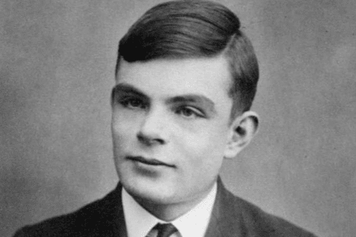 Portrait of Alan Turing at age 16