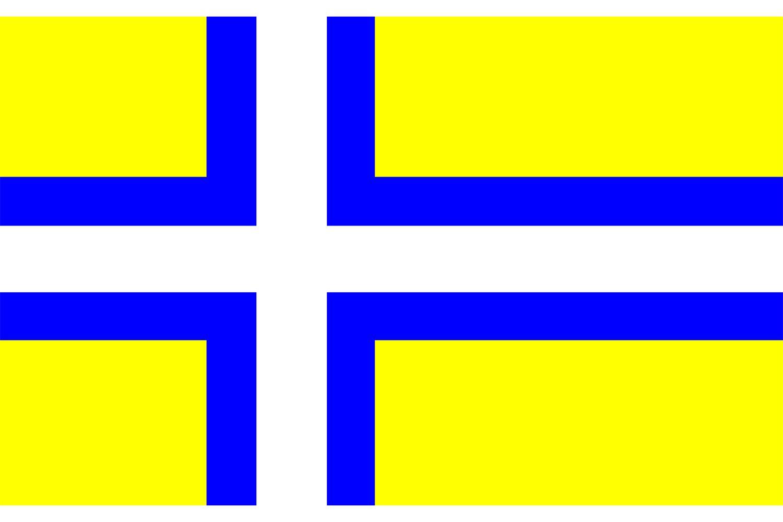 Vastergotland flag