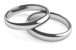 White gold usually is dull rather than shiny and rarely is white. Rhodium plating gives white gold an appearance similar to that of platinum metal at a fraction of the cost.