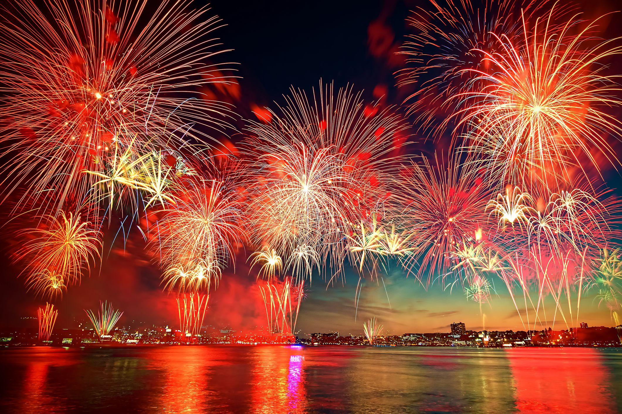 The Chemistry Behind Firework Colors