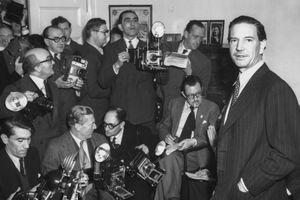 Photograph of Soviet spy Kim Philby