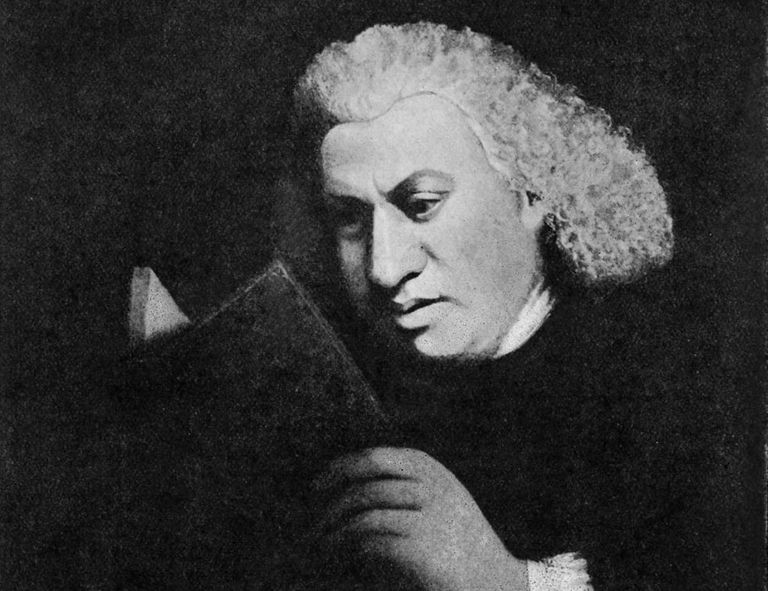 Samuel Johnson - portrait.