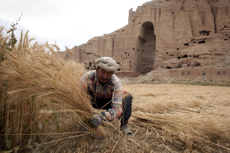 bamyan in afghanistan predating