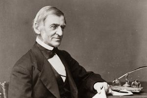 Photograph of Ralph Waldo Emerson