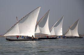 setting sail in Lake Albufera