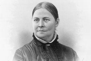 Lucy Stone, circa 1865