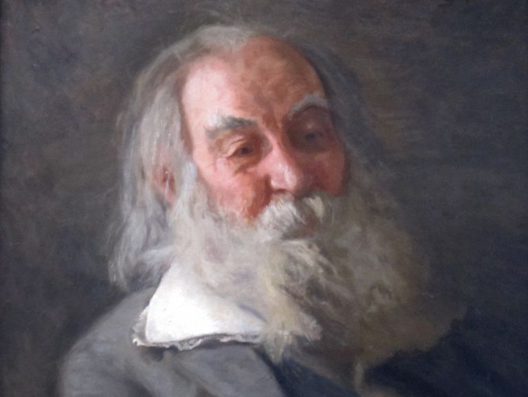 Portrait of Whitman by Thomas Eakins, 1887–88
