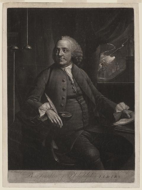 Benjamin Franklin of Philadelphia, 1763