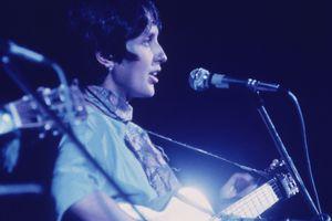 Joan Baez at the 1969 Woodstock Festival