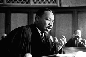 American Civil Rights leader Dr. Martin Luther King Jr.
