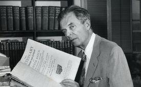 Portrait Of Novelist Aldous Huxley