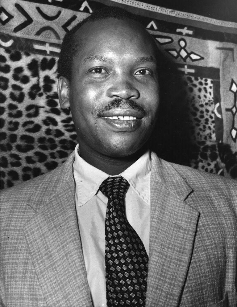 Portrait of Sir Seretse Khama