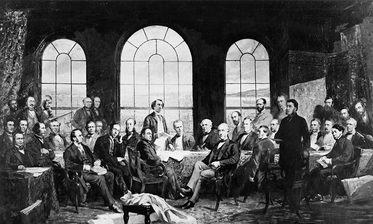 Conference at Québec in 1864