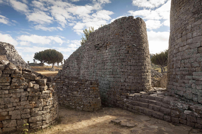 Great Enclosure in Zimbabwe ruins