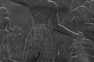 Detail of the Narmer Palette