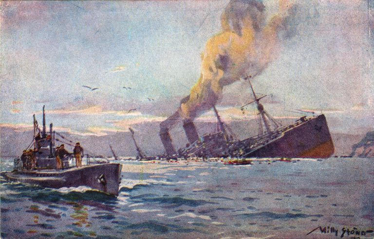 Unrestricted Submarine Warfare and How It Caused Germany to