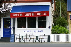 C'est La Vie, French-style cafe.