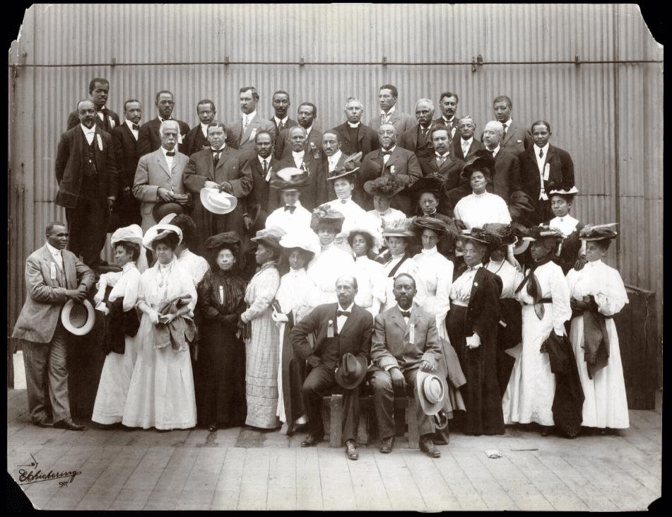 Niagara Movement delegates, Boston, Mass., 1907