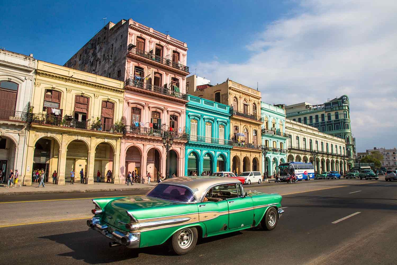 City street, Old Havana, Havana, Cuba