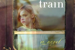 The cover of The Orphan Train