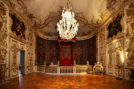A Baroque style room