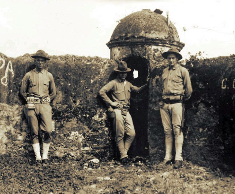 Marines in Santo Domingo, 1916