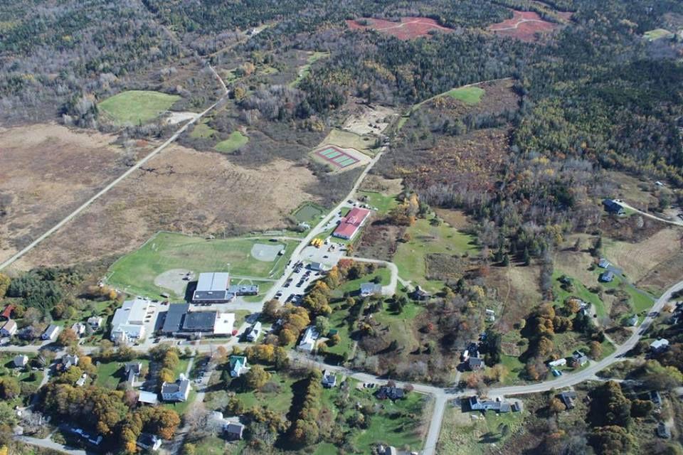 Aerial View of Washington Academy