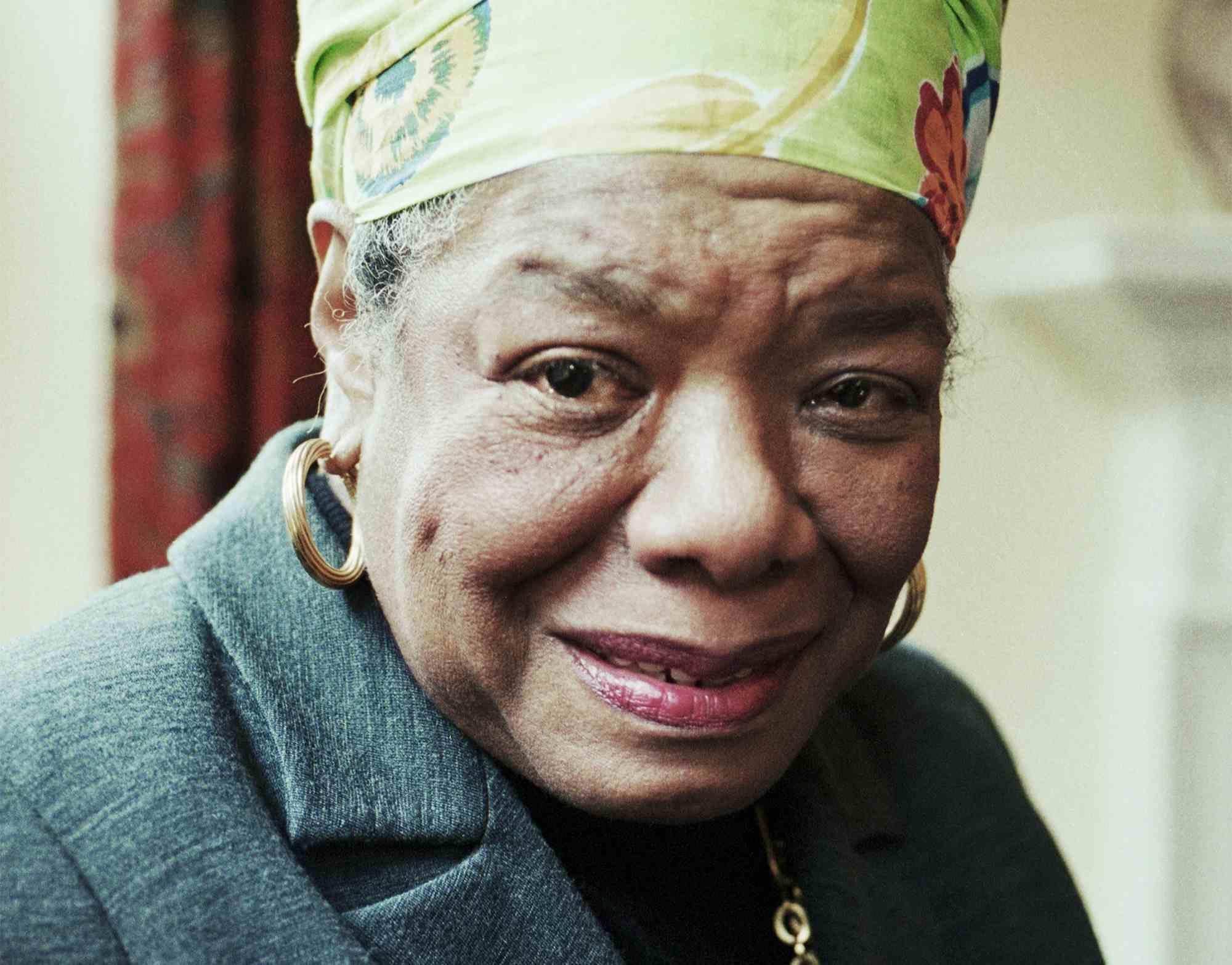 Maya Angelou, 1999