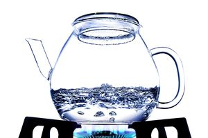 The boiling point of water is is the phase change from the liquid to vapor state.