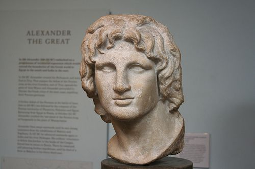 British Museum Marble Head of Alexander the Great