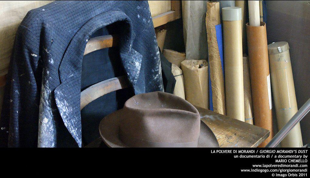 Famous artist Giorgio Morandi