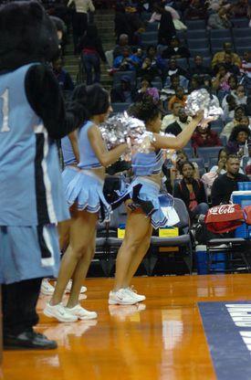 Livingstone College Cheerleaders