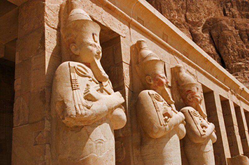 Hatshepsut as Osiris