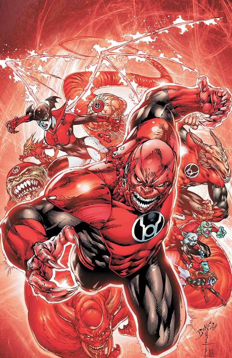 Red Lanterns art by Ed Benes
