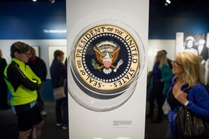 Presidential Seal at the JFK Library