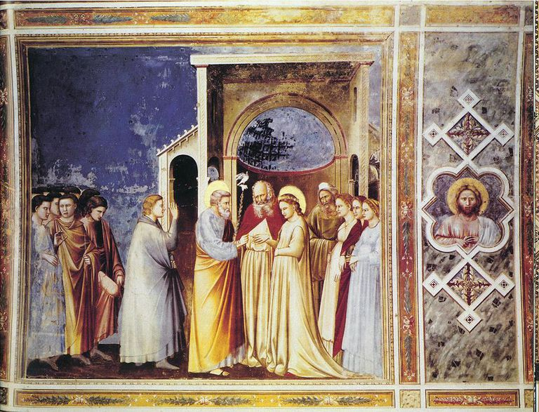 Marriage of the Virgin by Giotto
