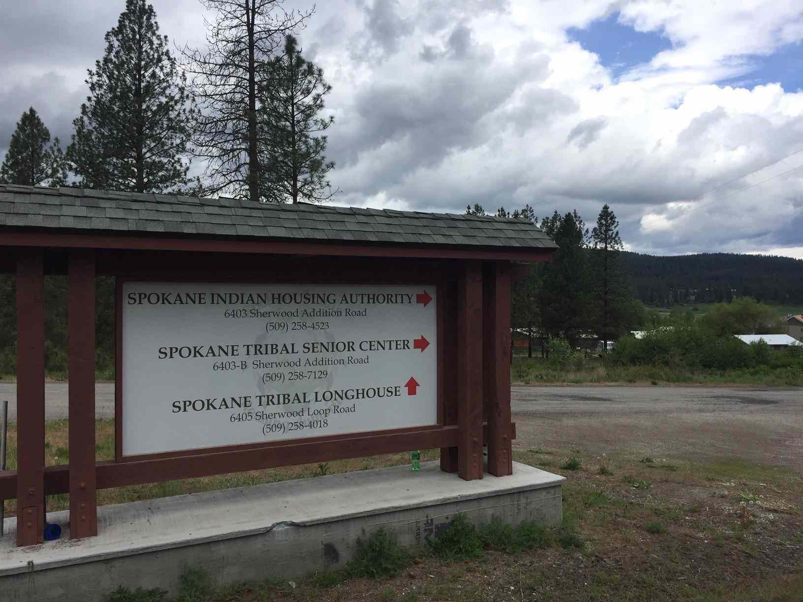 Spokane Indian Reservation in Wellpinit, Washington