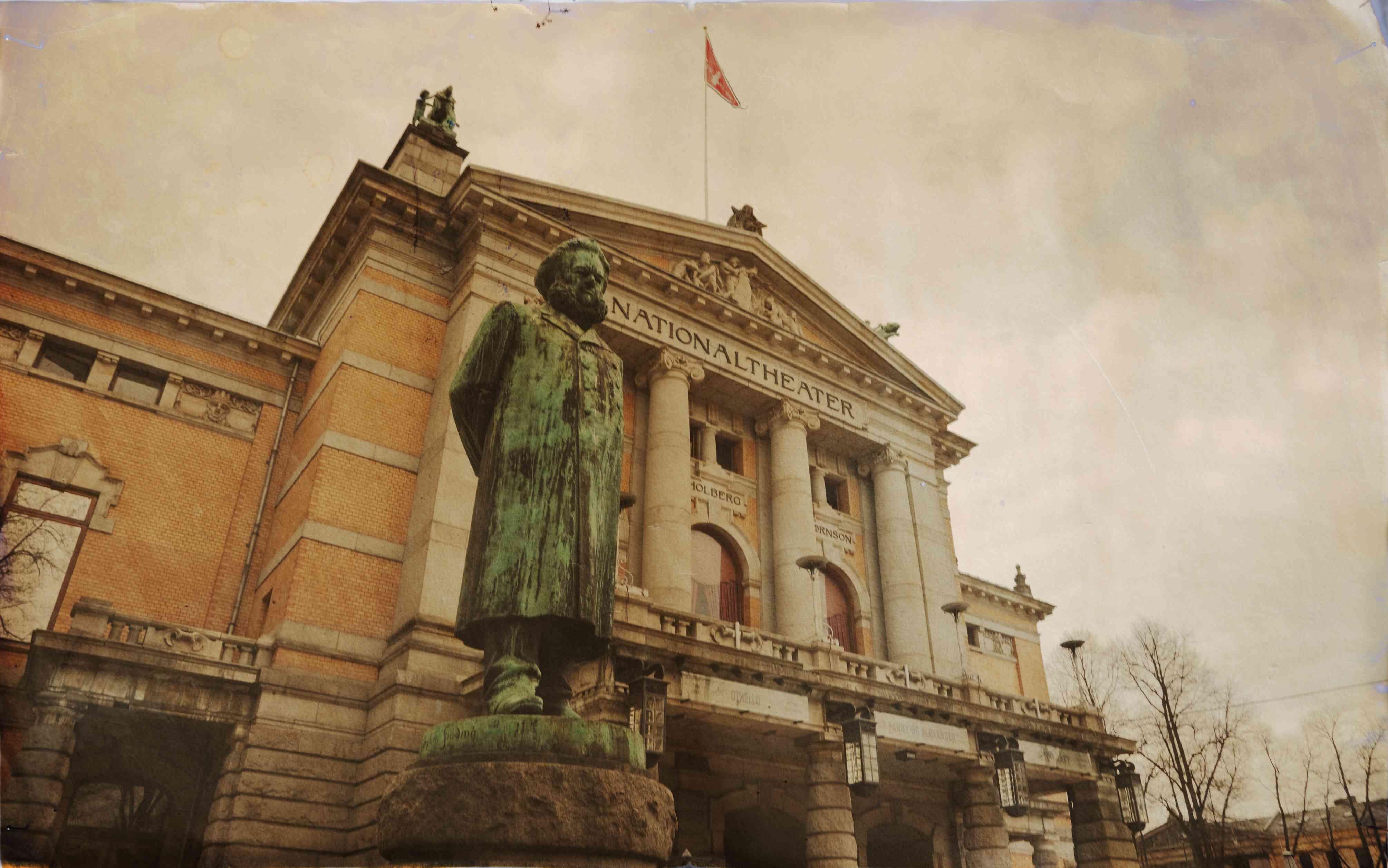 Teatro Nacional de Oslo.