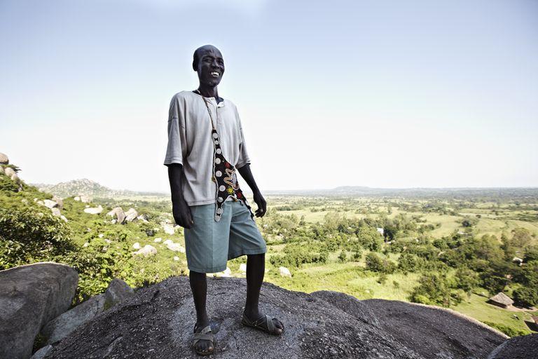 Luo tribesman in Kenya