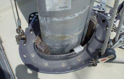 Mast Boot Prep