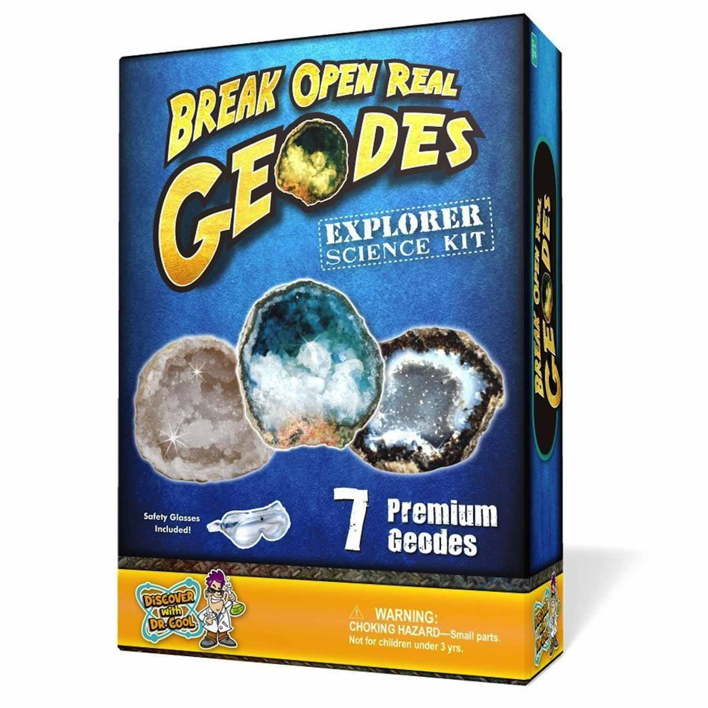 Break Open Real Geodes