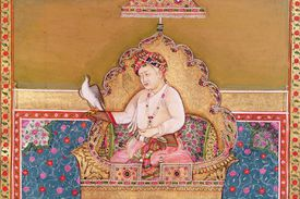 Painting of Akbar the Great