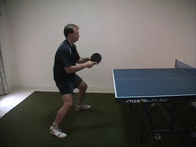 Photo of Forehand Counterhit - Ready Position