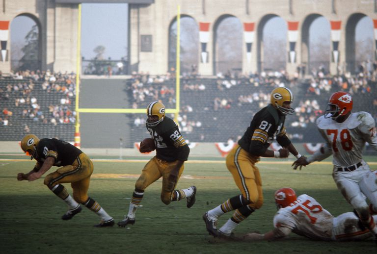 Super Bowl I, January 15, 1967 at the Los Angeles Coliseum in California