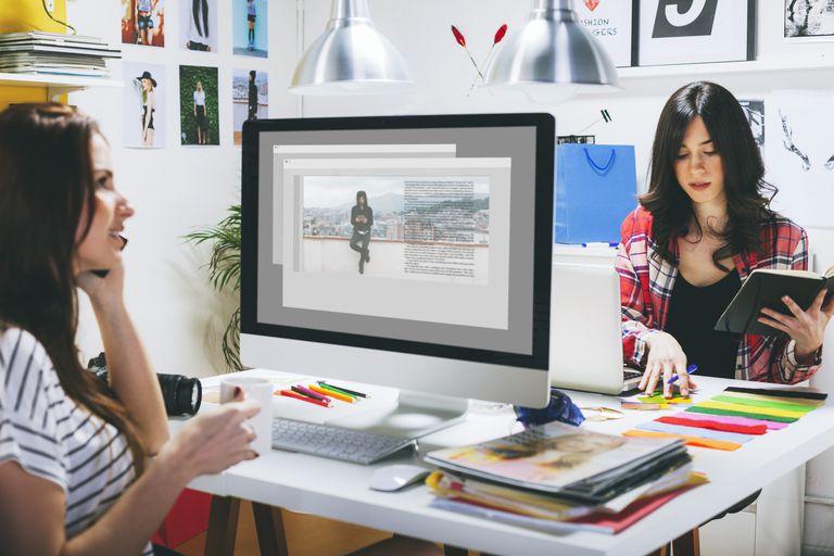 Bloggers on the job