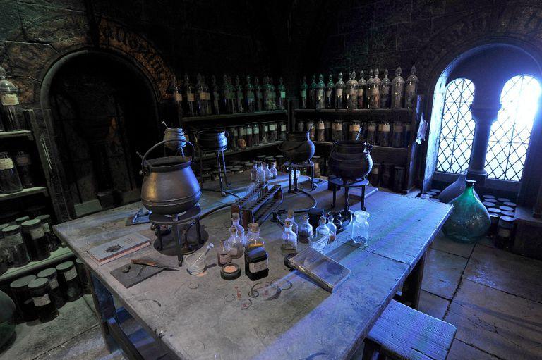 Hogwarts Potions Classroom