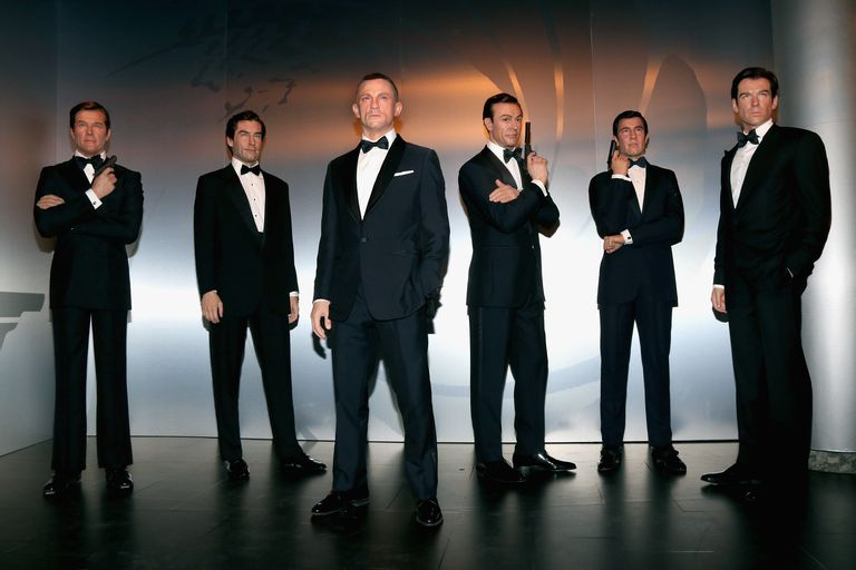 Madame Tussauds Berlin Unveils James Bond Wax Figures