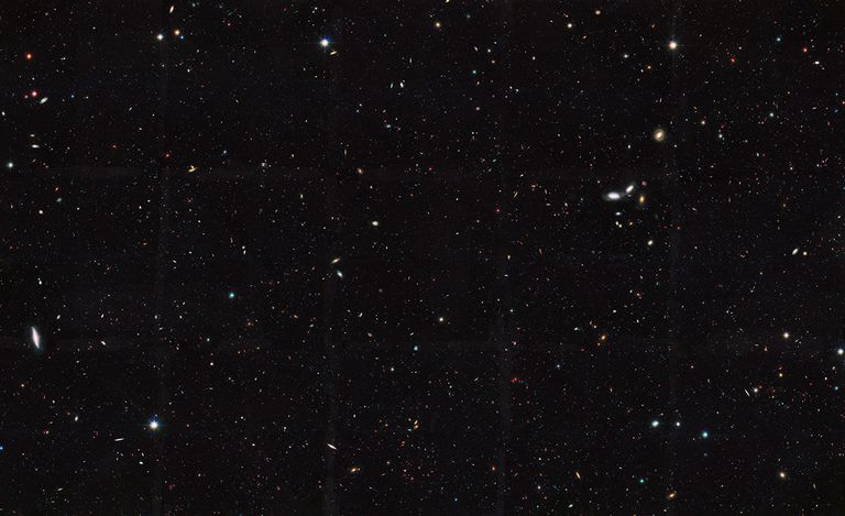 galaxy survey image.