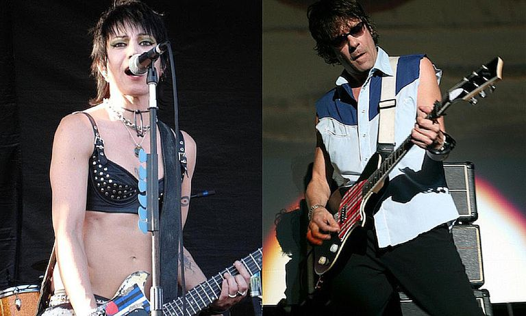 Joan Jett and Paul Westerberg