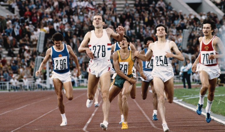 Distance Running Rules for Olympic Track Field